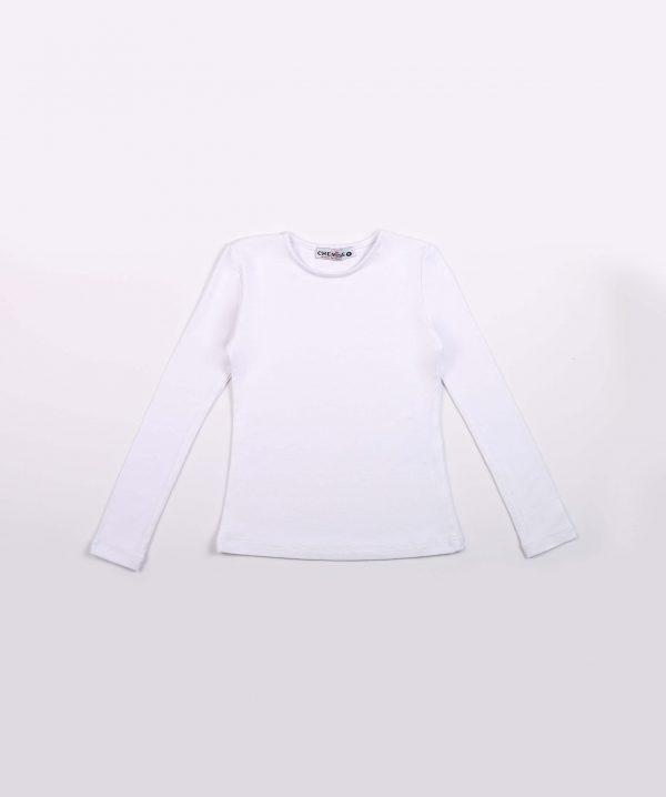 חולצת בייסיק שרוול ארוך ילדות