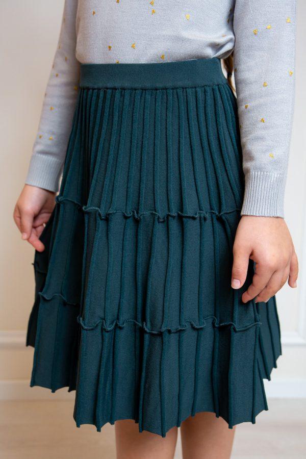 חצאית סריג קומות במגוון צבעים
