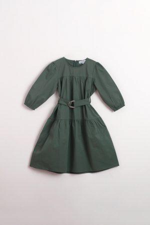 חצאית קומה-ירוק בקבוק