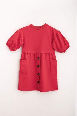 שמלת פרנצ'טרי-אדום