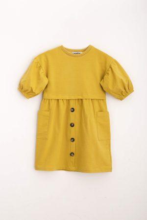 שמלת פרנצ'טרי-צהוב